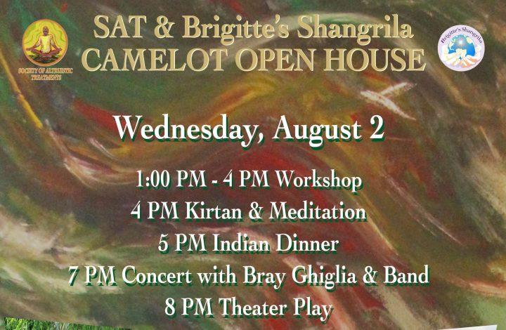 August 2 — Camelot Open House Tradigist, Austria