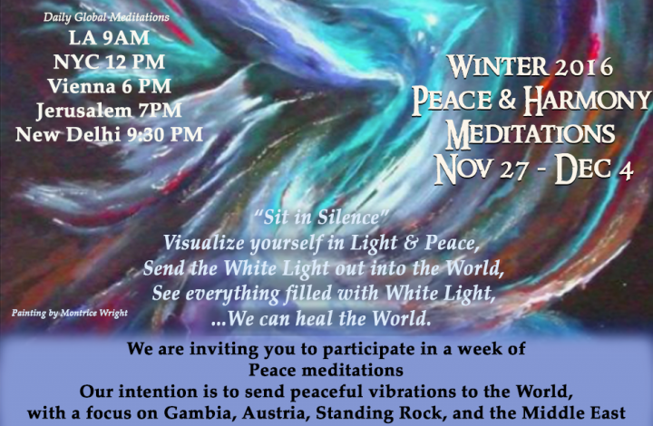 Peace Meditation Week