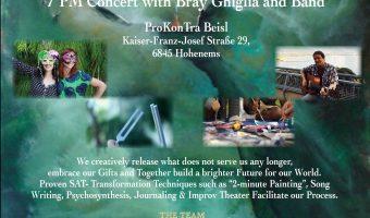 July 24 — Workshop & Concert in Hohenems, Austria