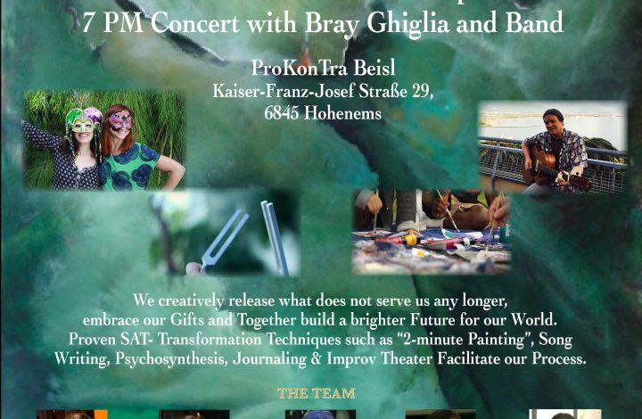 July 24 -- Workshop & Concert in Hohenems, Austria
