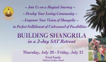 July 20-21 — SAT Retreat, Zikhron Ya'akov, Israel