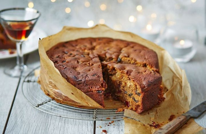 Gluten Free Apple Holiday Cake