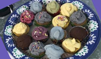 Marvelous Mini-Cupcake Frostings