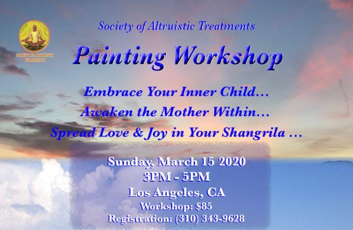 SAT Painting Workshop - 3/15/2020