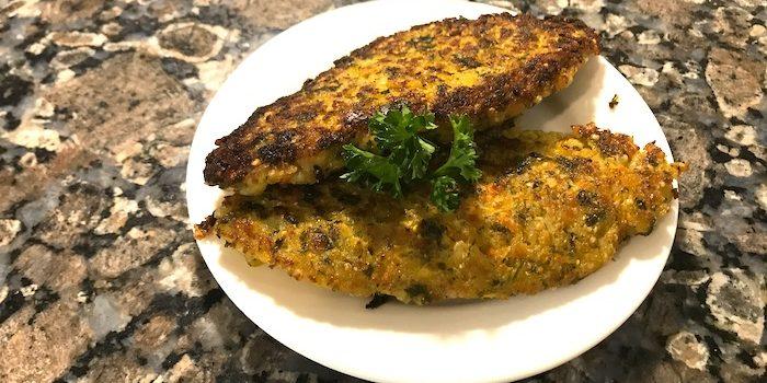 Zucchini-Lentil Burger