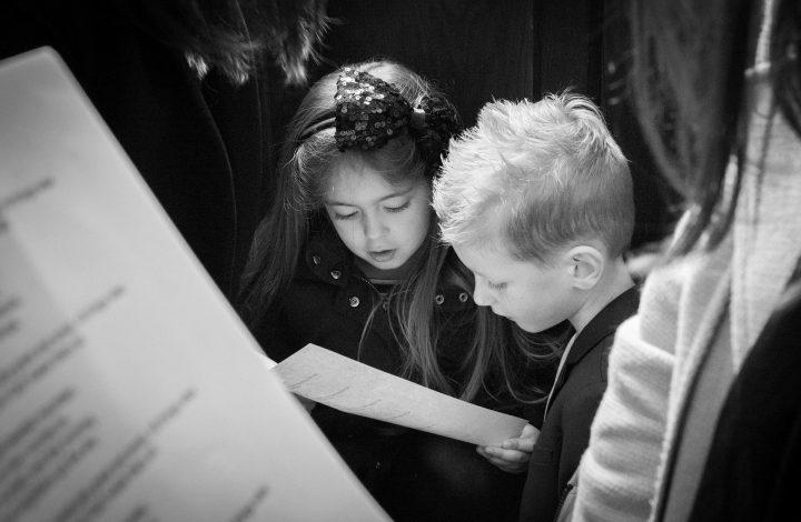 Children Choir Singing Speechless